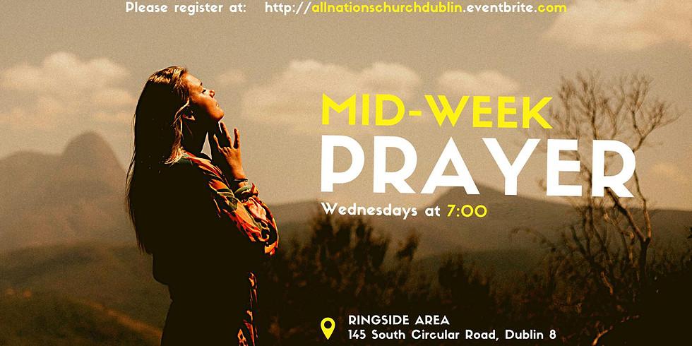 POSTPONED: Mid-Week Prayer