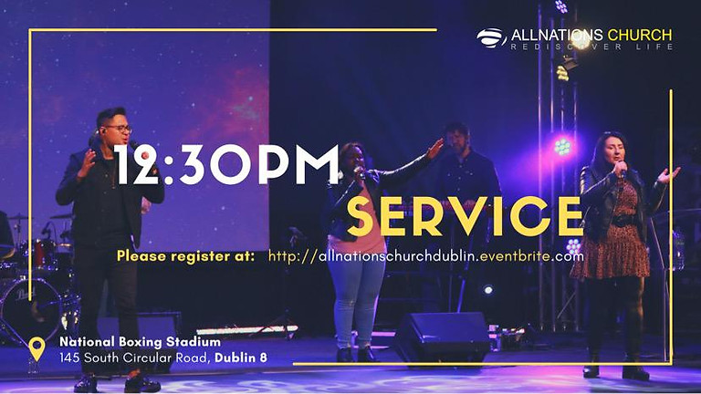 Register for 12:30 PM Service