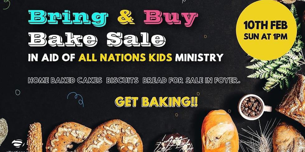 Bring and Buy Bake Sale