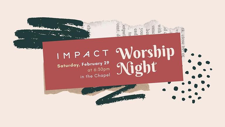 IMPACT Worship night