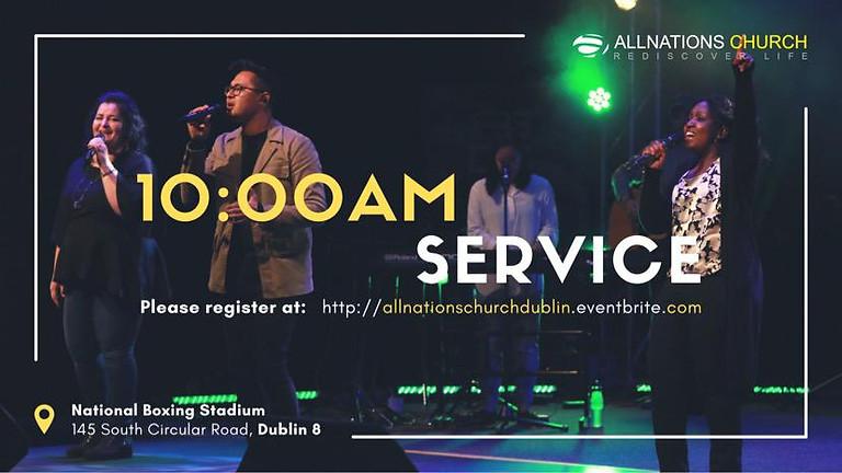 Register for 10:00 AM Service