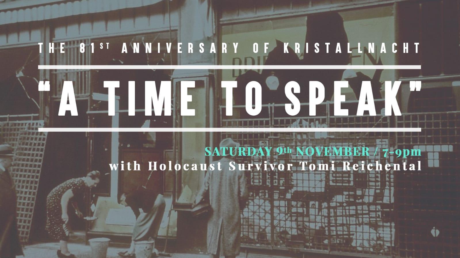 A Time to Speak with Holocaust Survivor Tomi Reichental
