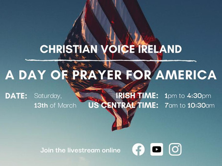 A Day of Prayer for America