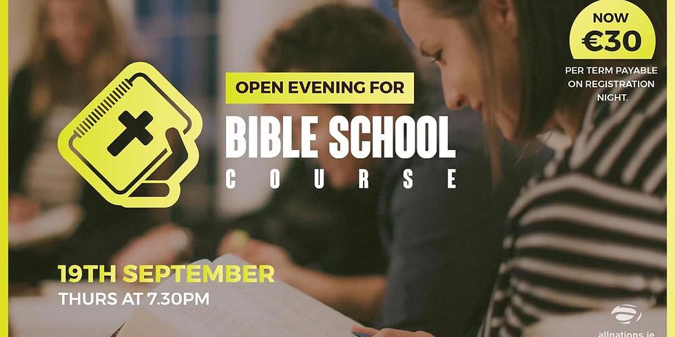 Open Evening Bible School