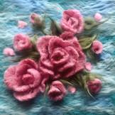 BB007 - Pink Flower Bouquet - €65