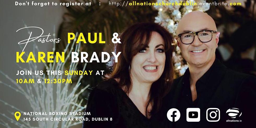 Paul & Karen Brady