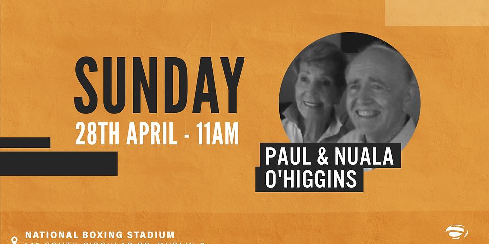 Paul & Nuala O'Higgins
