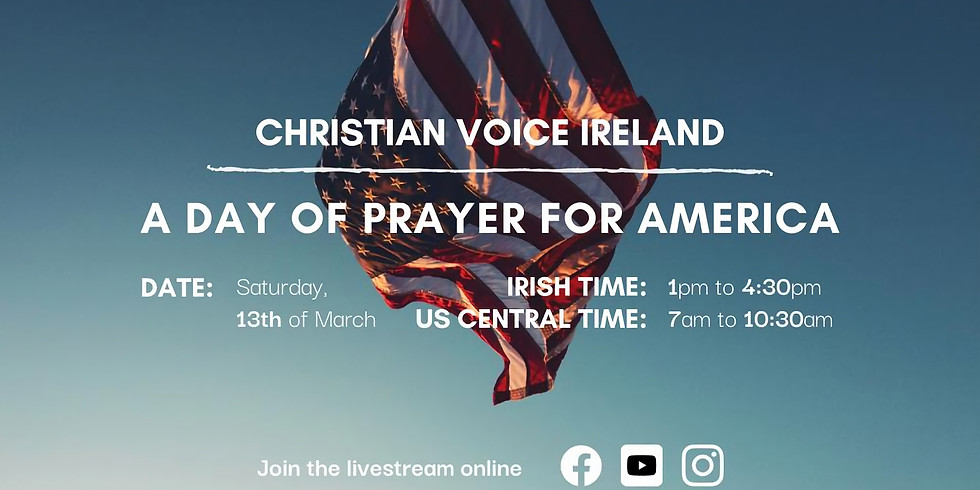 Day of Prayer for America - DATE CHANGED