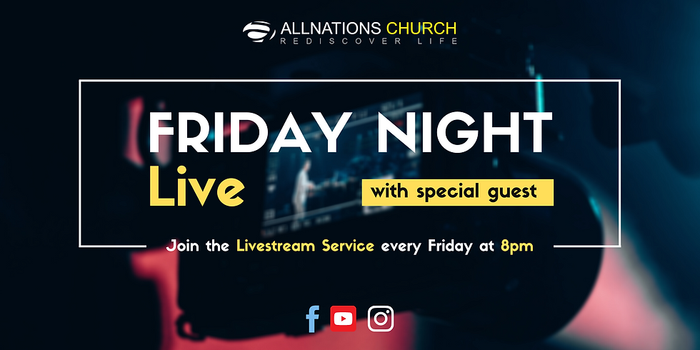 Friday Night Live with special guest