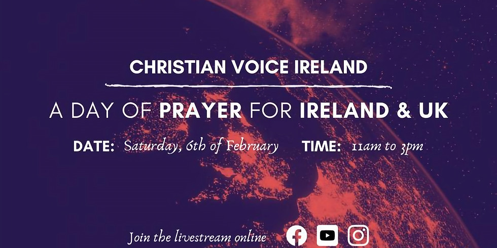 A Day of Prayer for Ireland & UK