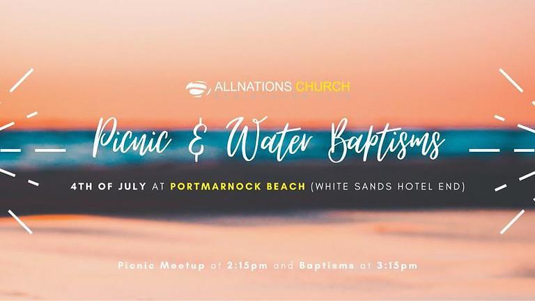 Picnic & Water Baptism
