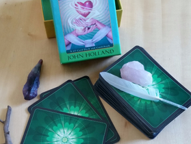 Psychic Tarot for the Heart Oracle by John Holland