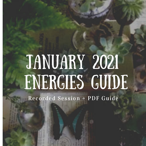 January 2021 Energies Guide & Recording