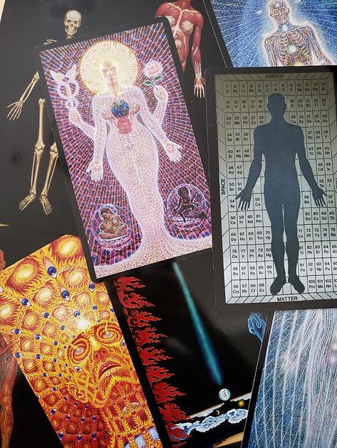 Sacred Mirrors Cards by Alex Grey | astrologyangelmedium