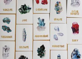 Mystic Rebel Crystal Oracle Deck by The Merhipsy