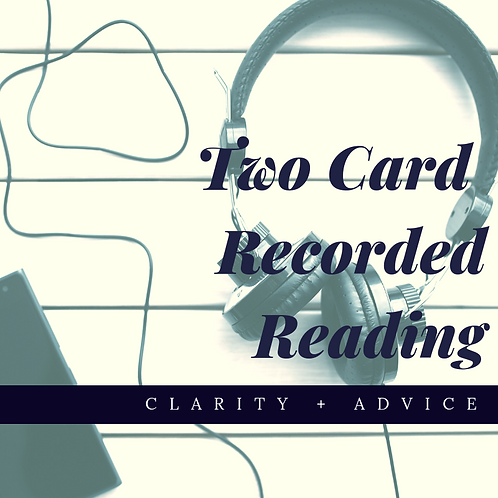 Two Card Recorded Reading