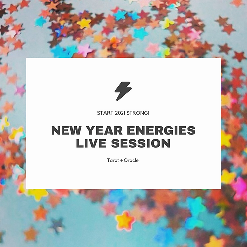 New Year Energies Live Session