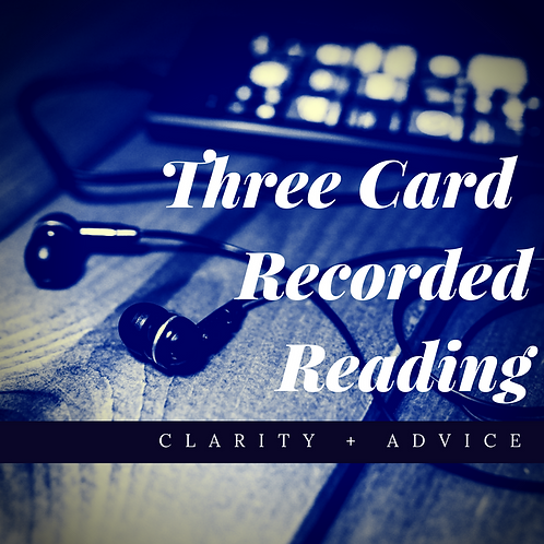 Three Card Recorded Reading