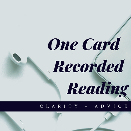 One Card Recorded Reading