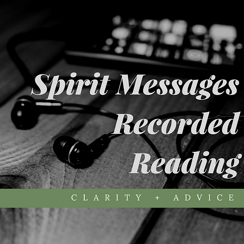 Spirit Messages Recorded Reading