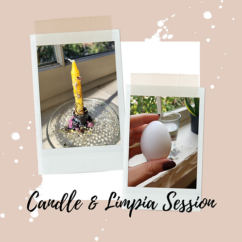 Candle & Limpia Session