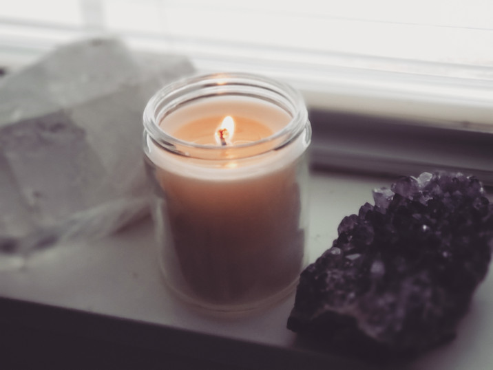 Candle & Crystals