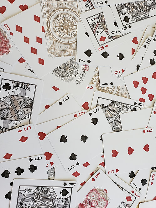 Playing Card Email Reading