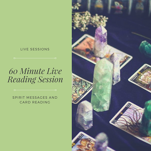 60 Minute Live Reading Session