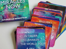 Miracles Now Affirmation Cards by Gabby Bernstein