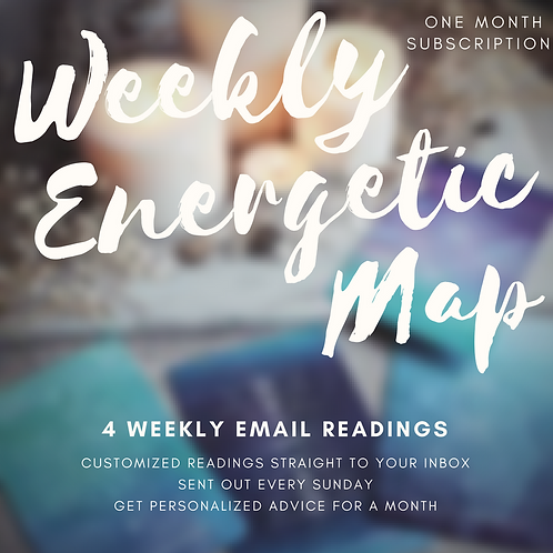 Weekly Energetic Map Email Subscription