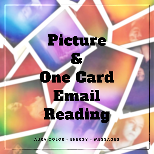 Picture and One Card Email Reading