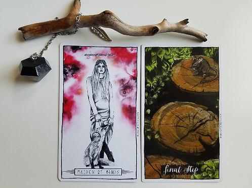 Tarot and Oracle Two Card Email Reading