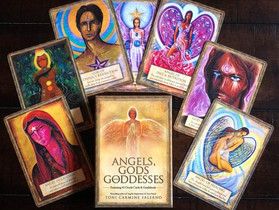 Angels, Gods, and Goddesses Oracle by Toni Carmine Salerno