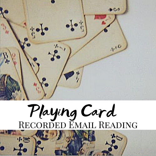Playing Card Recorded Email Reading
