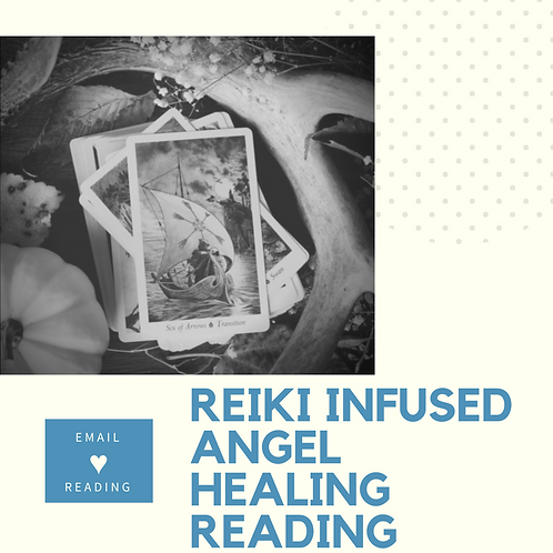 Reiki Infused Angel Healing Email Reading