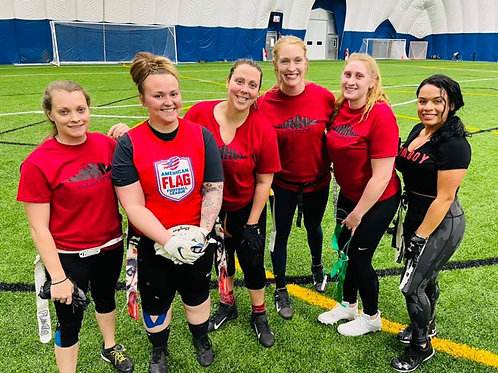 5v5 Indoor Women's Flag Football in Manchester, NH   Wednesday Nights