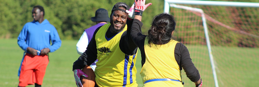 Outdoor Coed Flag Football League in Manchester, NH   Sunday (9 Weeks)
