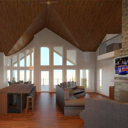 Vaulted ceilings, Shaul Designs LLC