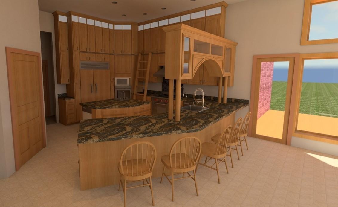 Kitchen Design peninsula