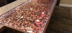 Penny rosin counter
