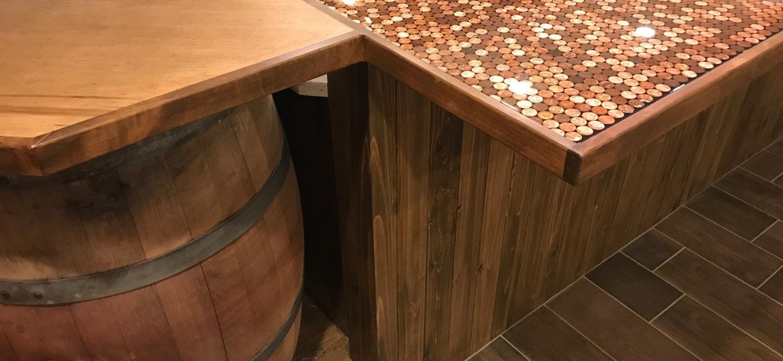 Unique island, rosin penny