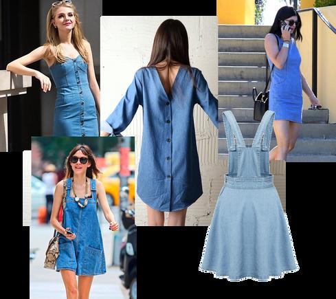 Trend Report–Week of 8/21/2015: Denim Dress