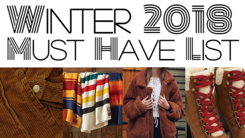 Winter 2018 Must-Have List