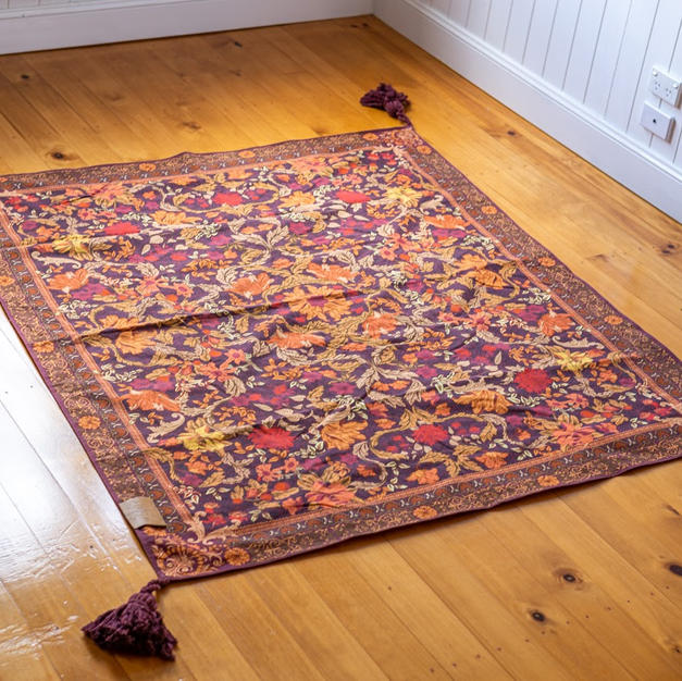 Spice Forest Throw Rug
