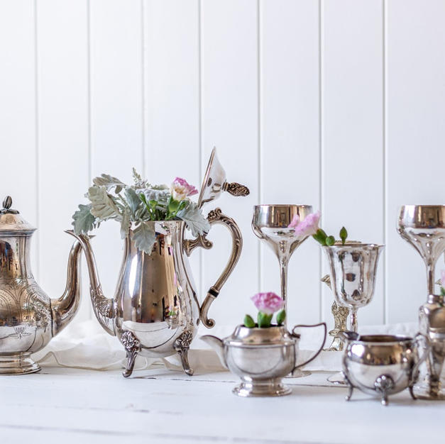 Antique Silver Vessels