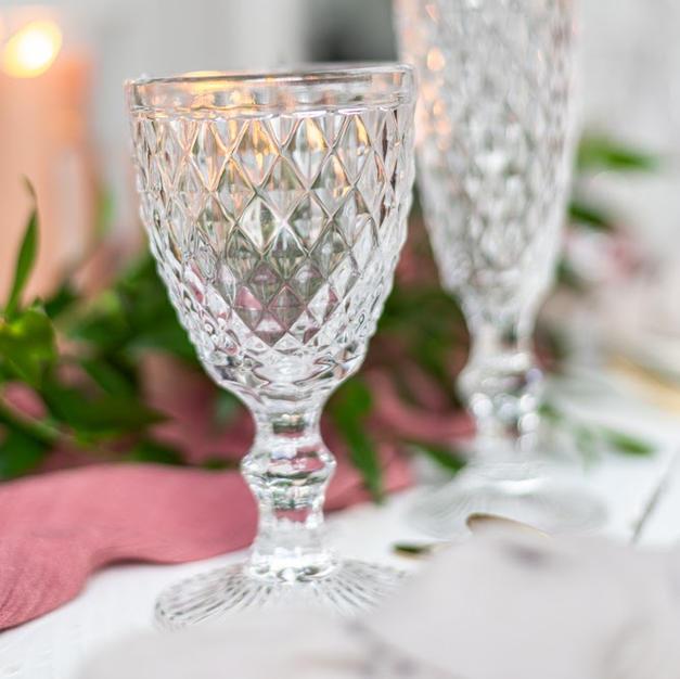 Crystal Look Wine Glass