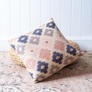 Boho diamond cushion