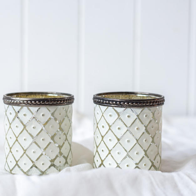 White Tealight Votives