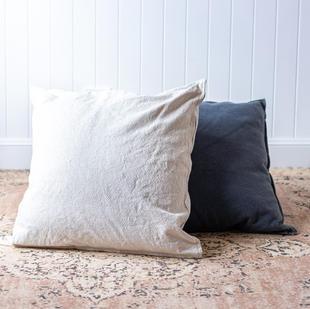 Linen floor cushion (2 colours)