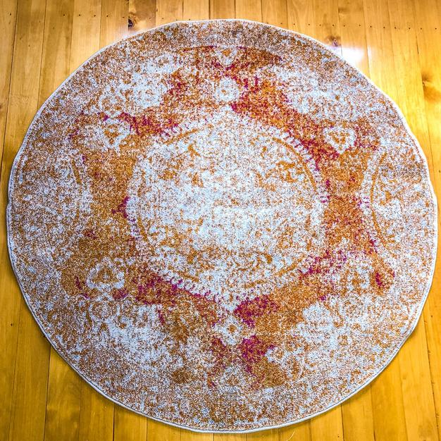Orange Oriental Rug